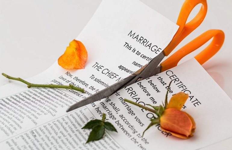 Is Social Distancing Increasing Divorce Rates?
